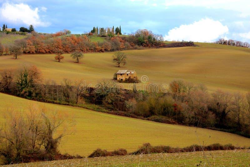 Farmhouse in Lazio royalty free stock photography