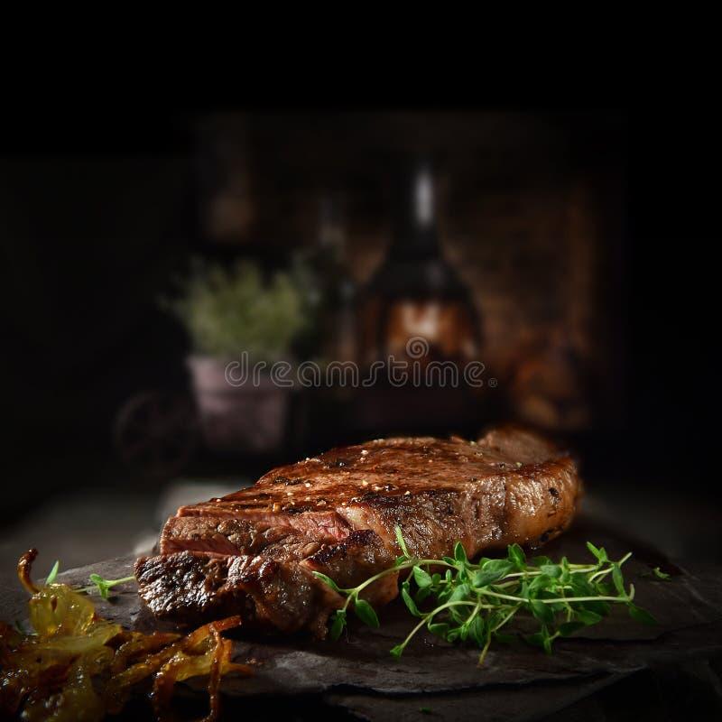 Free Farmhouse Rustic Rump Steak Royalty Free Stock Image - 156756676