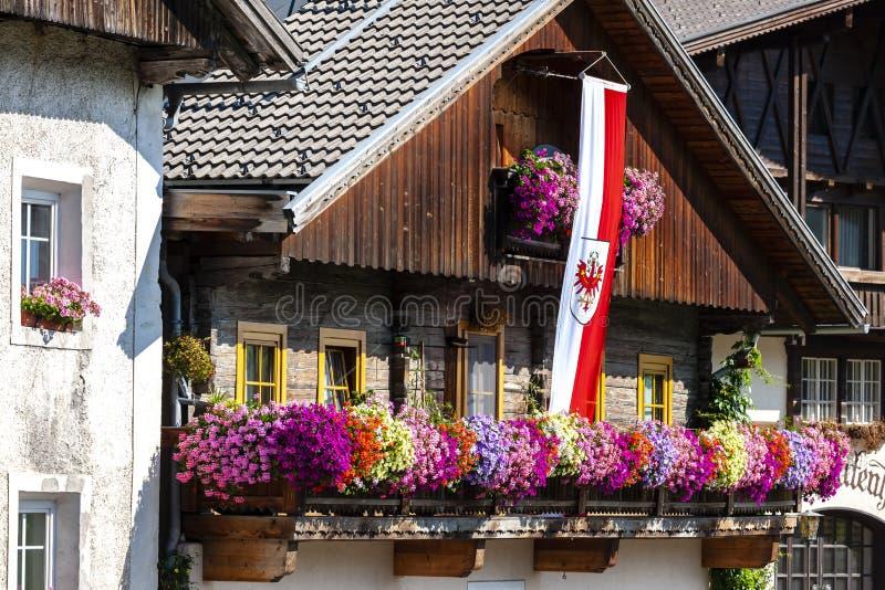 Farmhouse, Styria, Austria. Architecture rural valley alpine tourism destination urban travel holiday austrian cottage wood tradition rustic hut tourist wooden royalty free stock photography