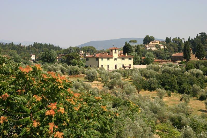 farmhouse tuscan στοκ φωτογραφία με δικαίωμα ελεύθερης χρήσης