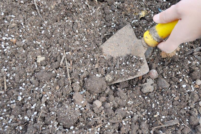 Download Farming stock image. Image of fertilizer, mittens, seeding - 17850577