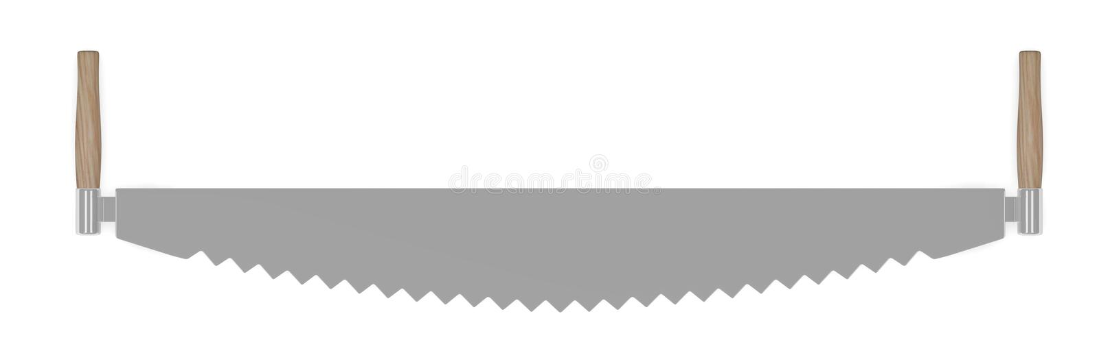 Download Farming tool - saw stock illustration. Image of classic - 23963512