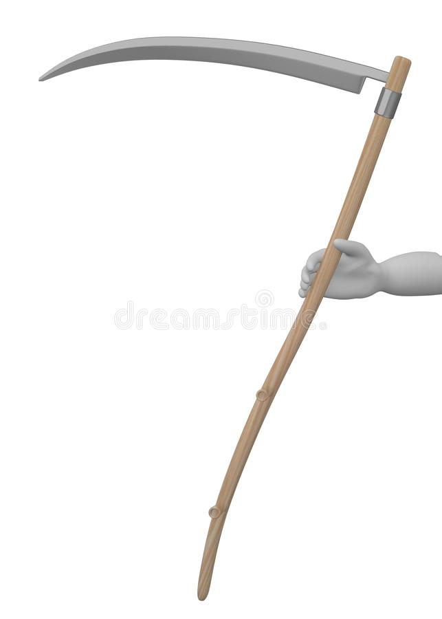 Download Farming Tool - Scythe In Hand Stock Images - Image: 24588954
