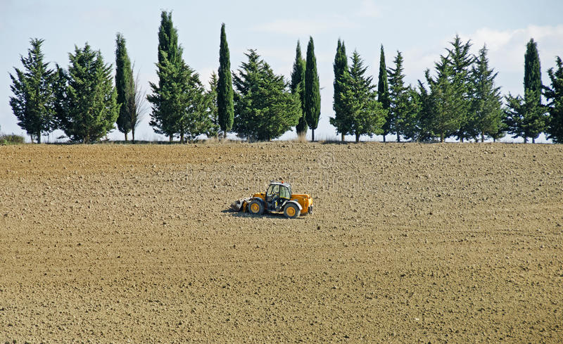 Farming in Tuscany, Italy stock images