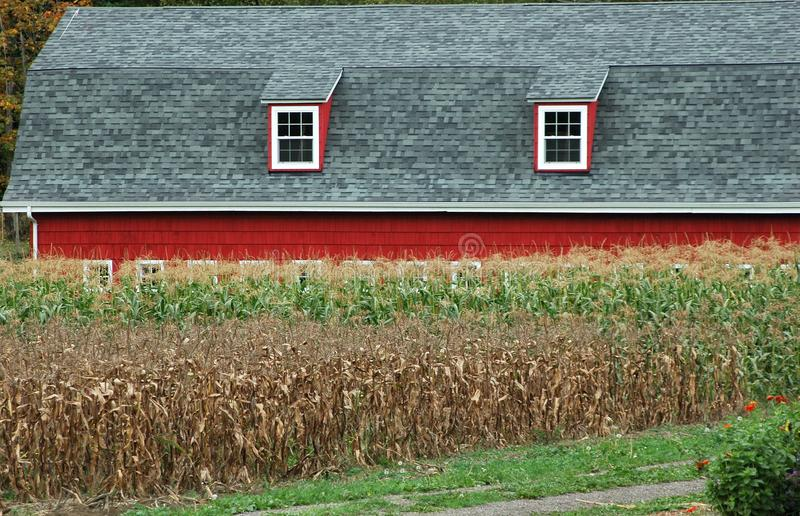 Farmland house. Farmland storage house displayed in nature outdoors stock photos