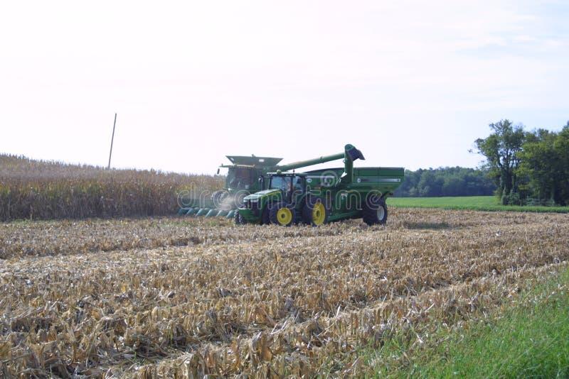 Farmland USA в Иллинойсе 2019 V-A стоковые фото