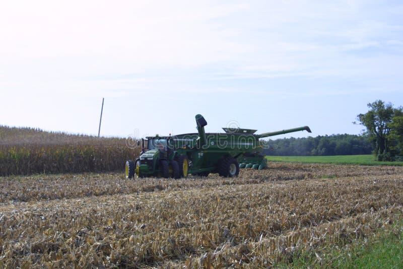 Farmland USA, Иллинойс, 2019 IV-A стоковые фото