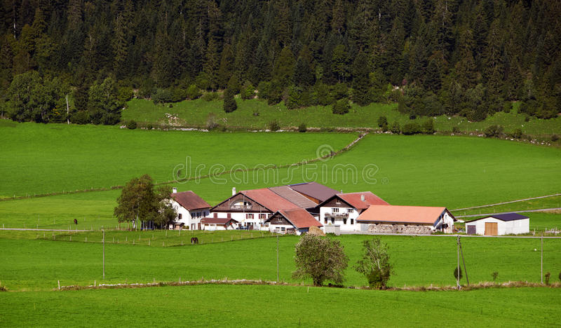 Farms In the mountains