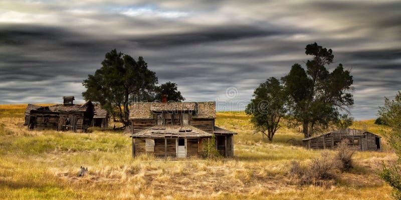 Farmstead Ruins stock photo