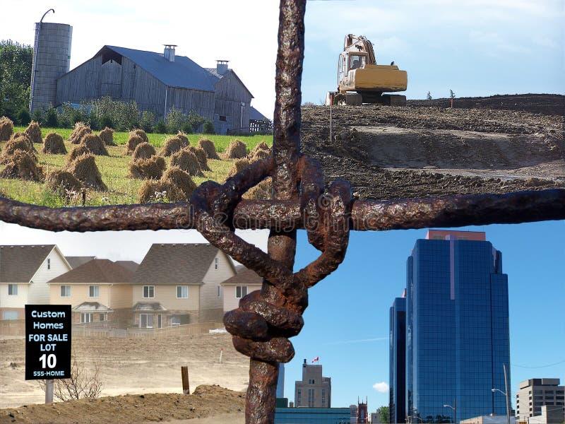 farmy kolaż płot zdjęcia royalty free