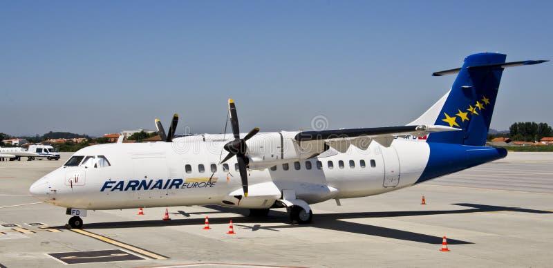 Farnair Europa, ATR 42-320 zdjęcie stock