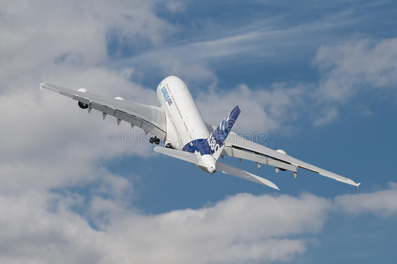 Download Farnborough A380 editorial photography. Image of large - 24807477