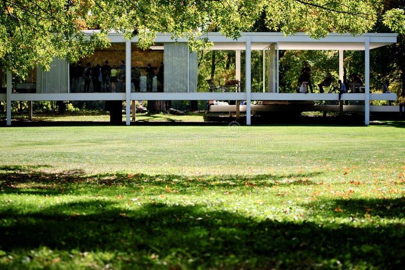 Farnsworth-Haus stockbilder