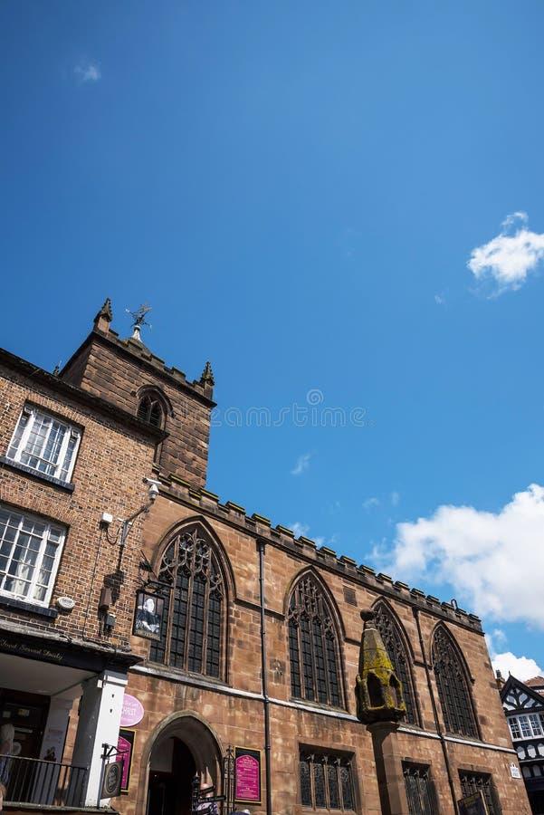 Farny kościół w Chester Anglia obraz stock