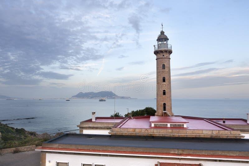 Faro Algeciras imagenes de archivo