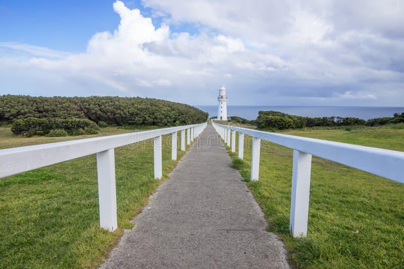 Faro Australia de Otway del cabo imágenes de archivo libres de regalías