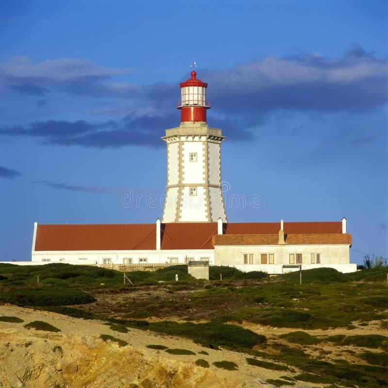 Faro, Cabo Espichel foto de archivo
