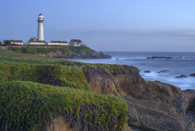 Faro California del Nord del punto del piccione fotografie stock