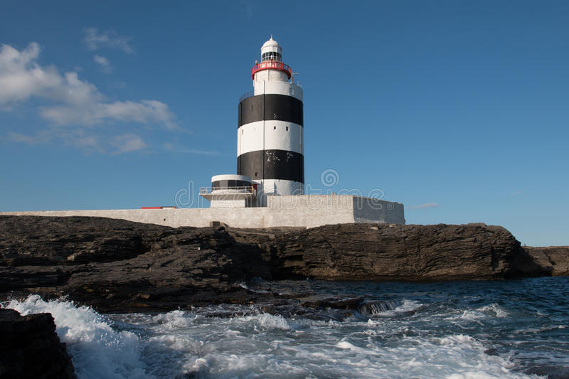 Faro capo del gancio, Co Wexford, Irlanda immagine stock libera da diritti