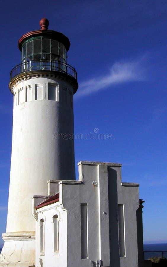 Faro capo del nord fotografie stock