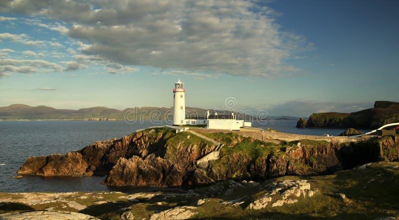 Faro Co de Fanad Donegal Irlanda imagenes de archivo