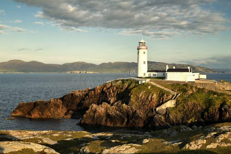 Faro Co de Fanad Donegal Irlanda foto de archivo