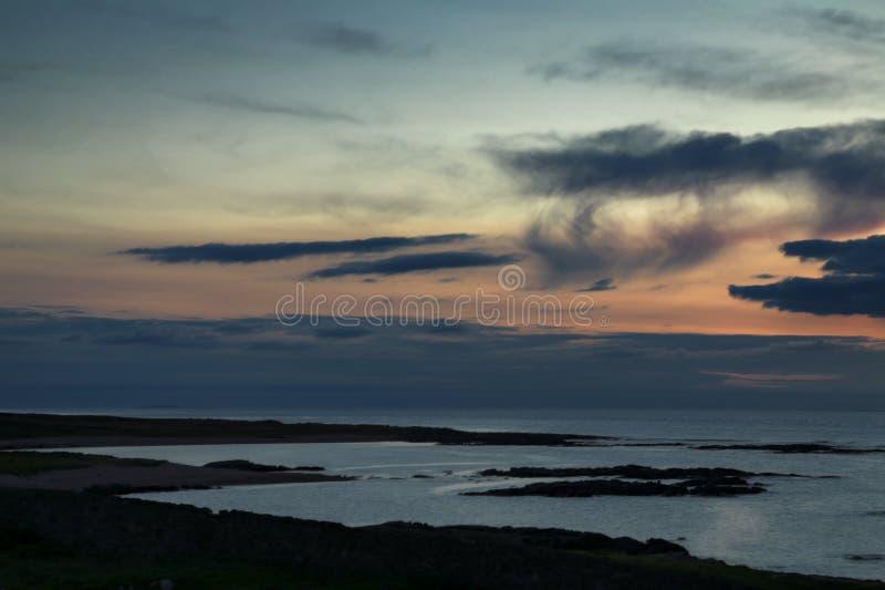 Faro Co de Fanad Donegal Irlanda fotos de archivo libres de regalías
