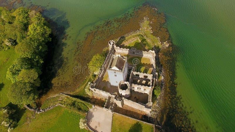 Faro Co Donegal Irlanda de la cabeza de Dunree imagen de archivo