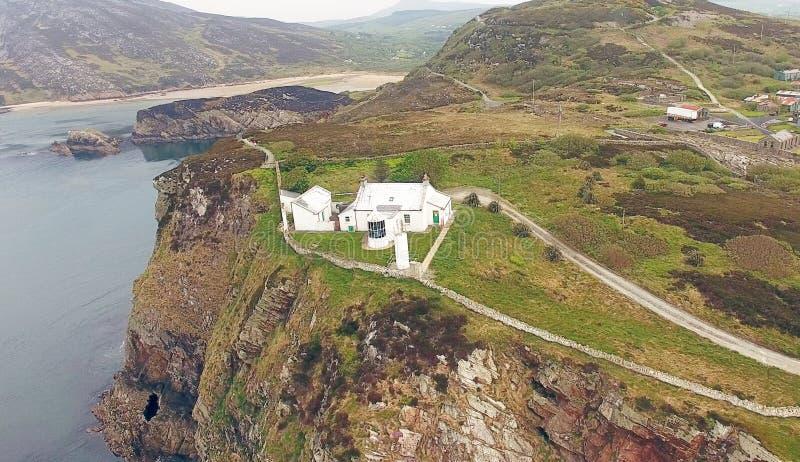 Faro Co Donegal Irlanda de la cabeza de Dunree imágenes de archivo libres de regalías