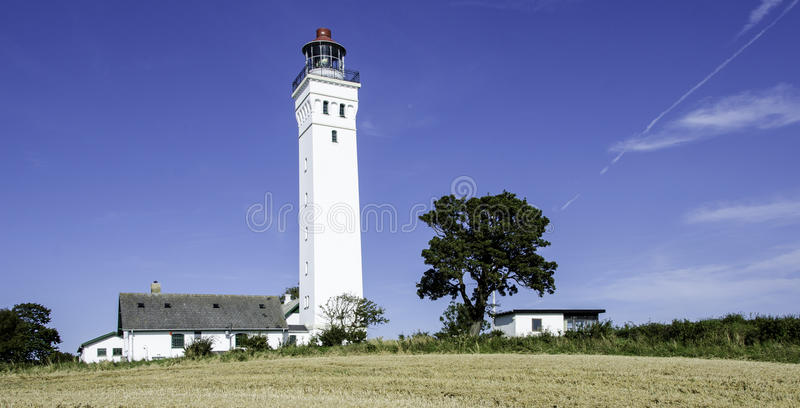 Faro danese fotografia stock