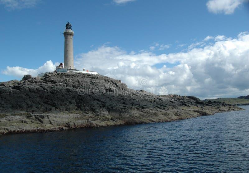 Faro de Ardnamurchan foto de archivo