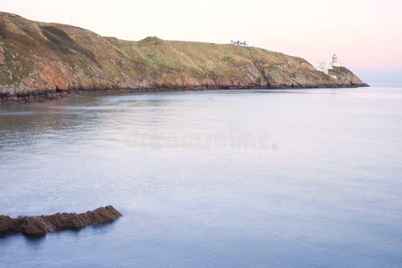 Faro de Baily foto de archivo