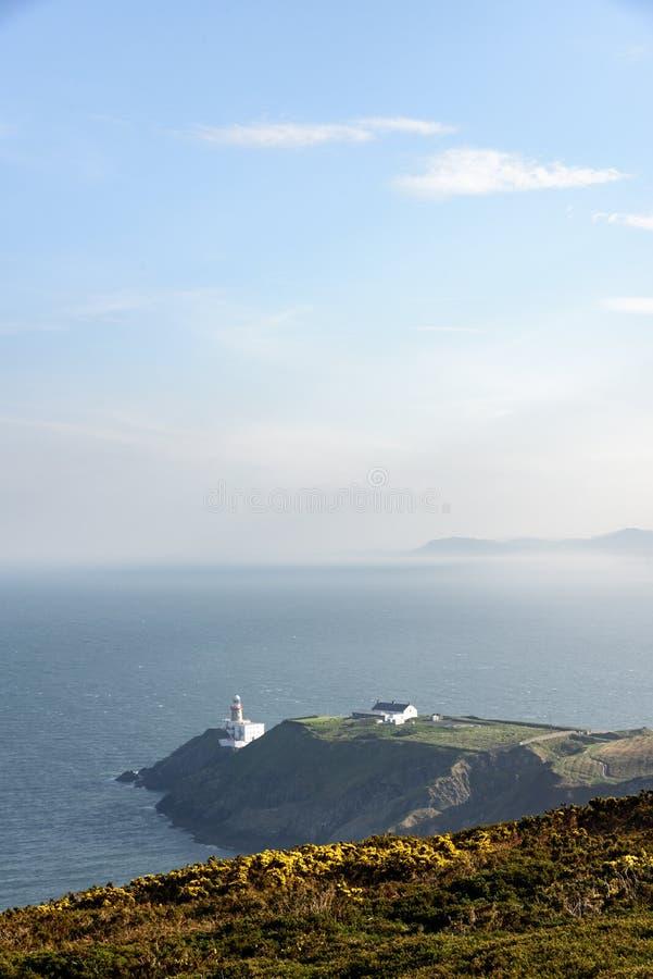 Faro de Baily, Howth Irlanda imagen de archivo