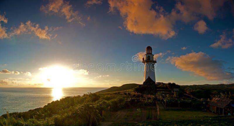 Faro de Basco en Batanes fotografía de archivo libre de regalías