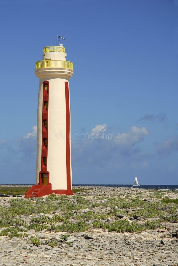 Faro de Bonaire fotografía de archivo libre de regalías