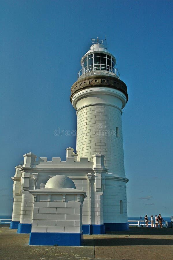 Faro de Byron del cabo foto de archivo libre de regalías