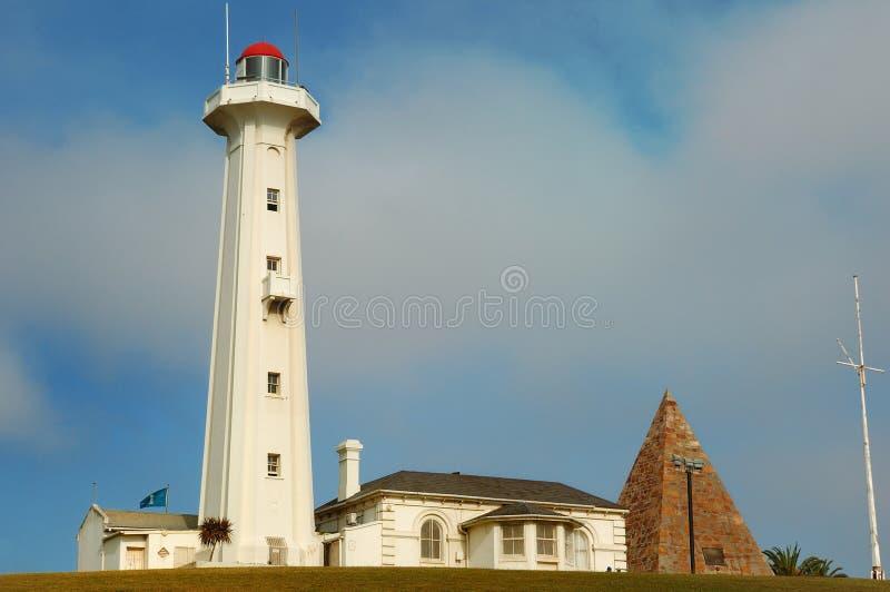 Faro de Donkin (Port Elizabeth) fotografía de archivo libre de regalías