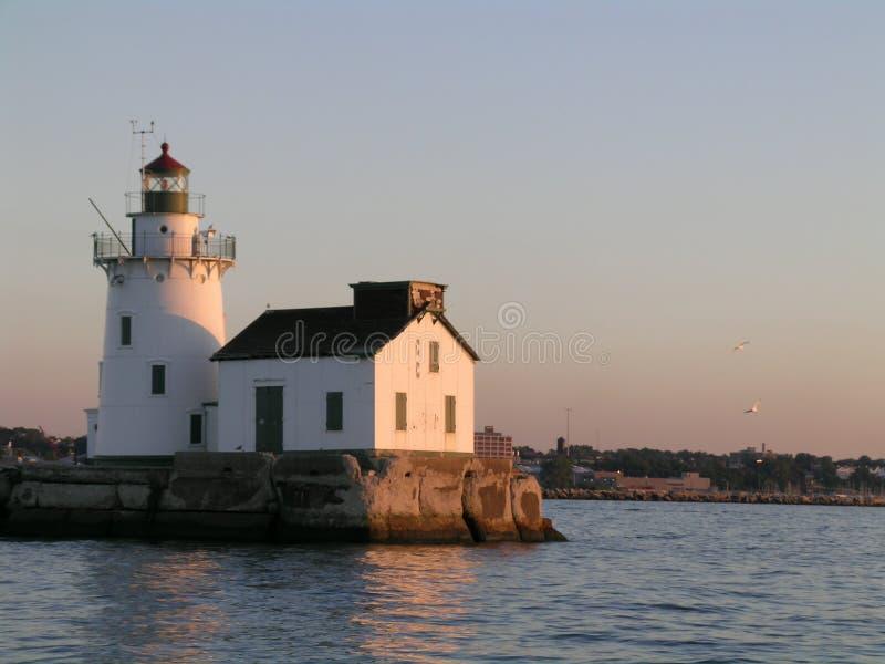 Faro de Erie de lago fotos de archivo