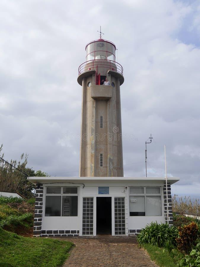 Faro de Farol de Sao Jorge imagenes de archivo