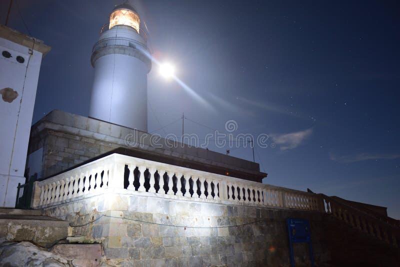 Faro de Formentor fotos de archivo