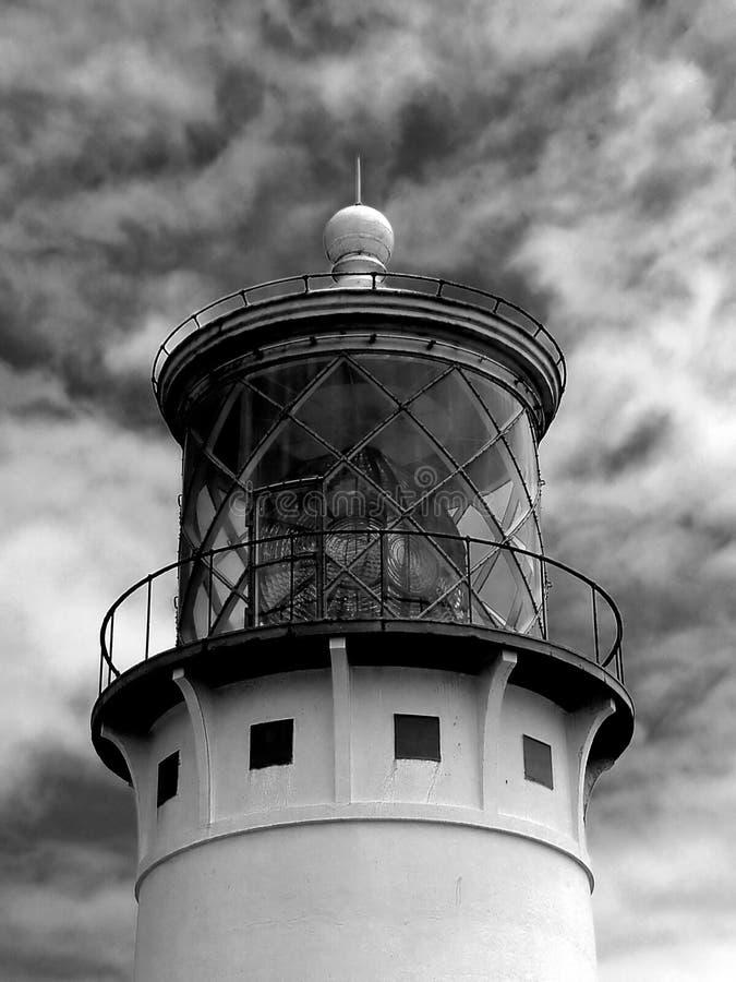 Faro de Kilauea fotografía de archivo