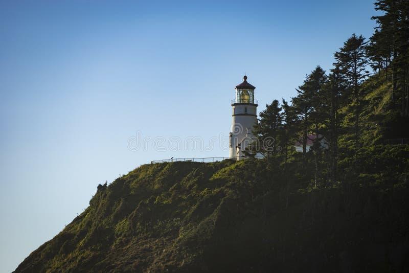 Faro de la cabeza de Heceta, Oregon imagen de archivo libre de regalías