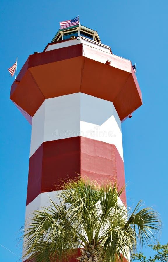 Faro de la ciudad del puerto imágenes de archivo libres de regalías