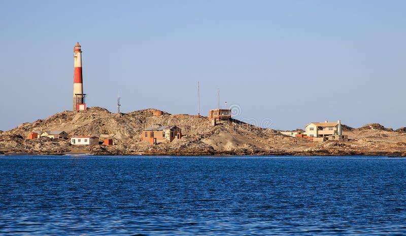 Faro de la punta de Díaz imagen de archivo