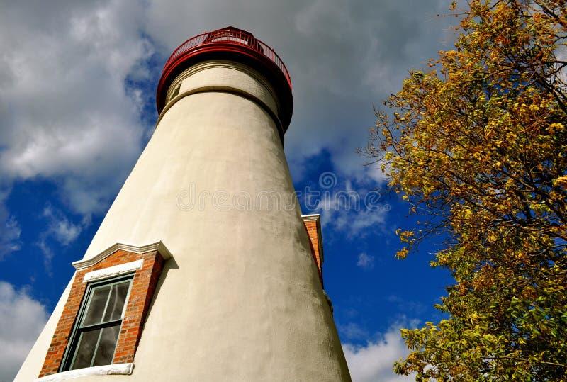 Faro de Marblehead - Ohio fotografía de archivo libre de regalías