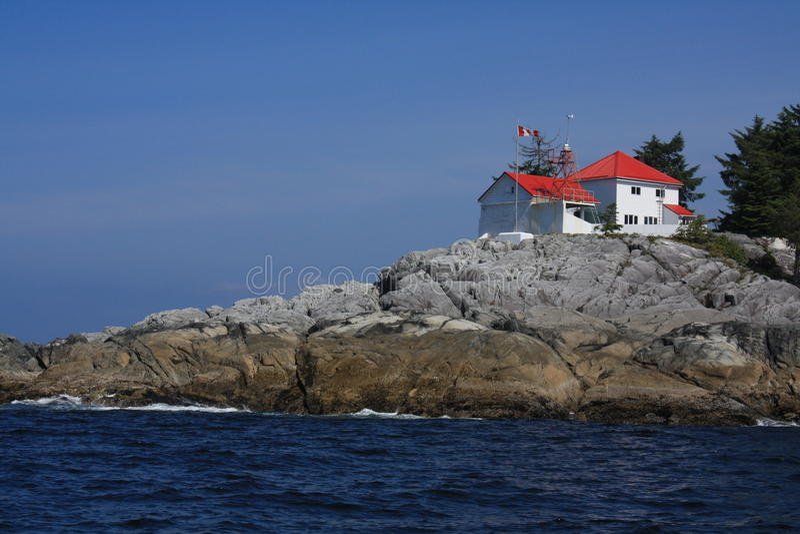Faro de marfil de la isla fotos de archivo libres de regalías
