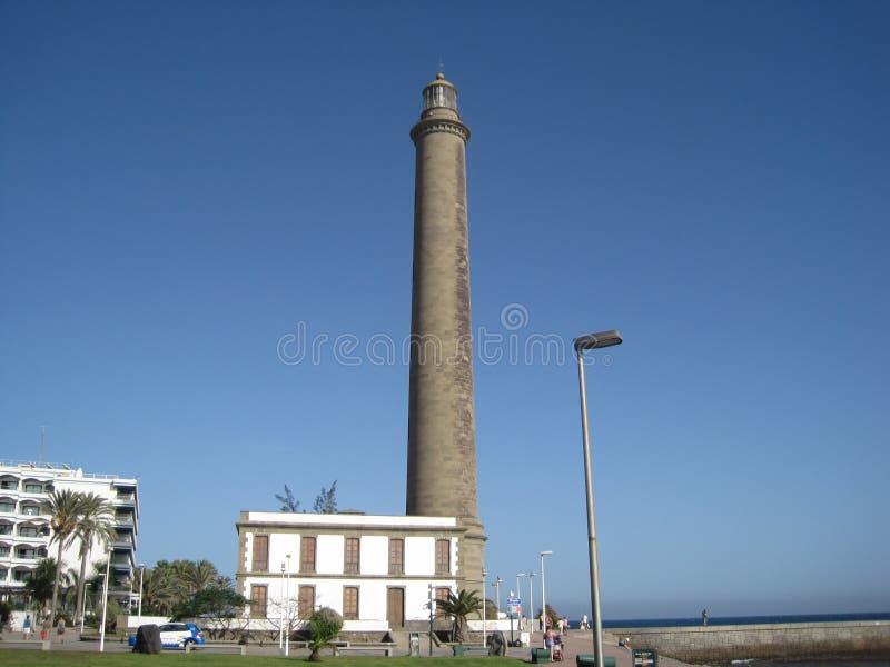 Faro de Maspalomas/mamie Canaria photos stock