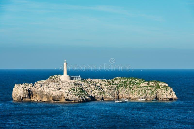 Faro DE Mouro in Santander royalty-vrije stock fotografie