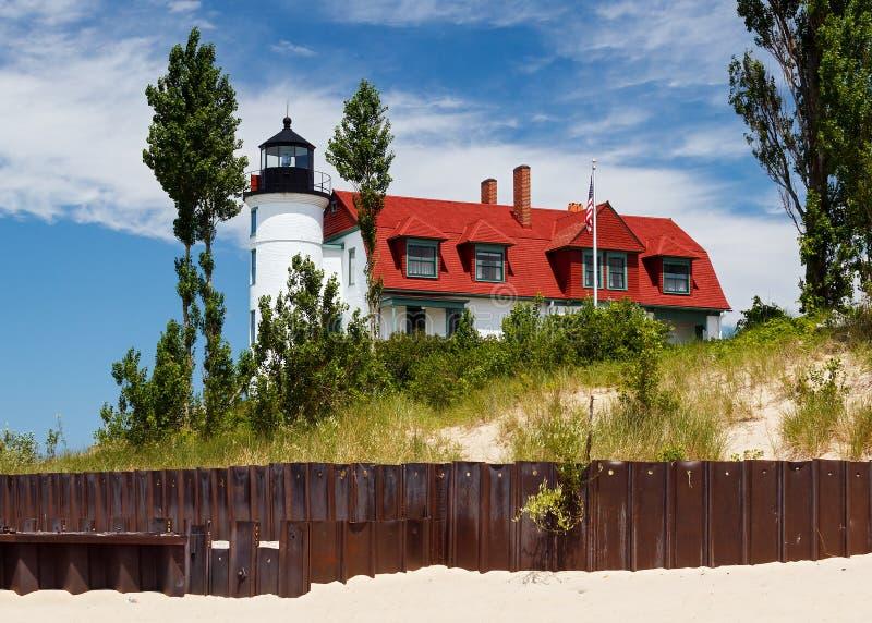 Faro de Pointe Betsie fotografía de archivo libre de regalías