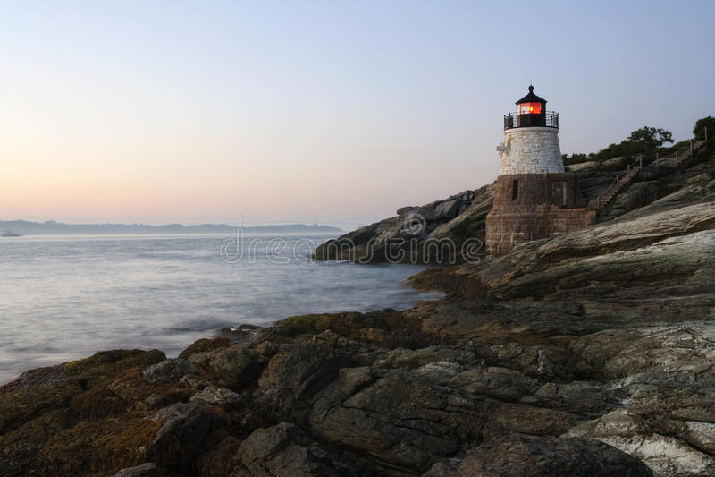 Faro de Rhode Island foto de archivo libre de regalías